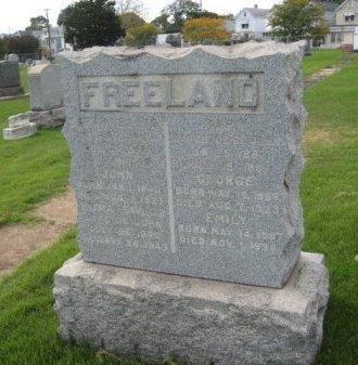 FREELAND, JOHN - Bergen County, New Jersey   JOHN FREELAND - New Jersey Gravestone Photos