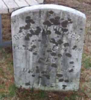 HOPPER, GEORGE W. - Bergen County, New Jersey | GEORGE W. HOPPER - New Jersey Gravestone Photos