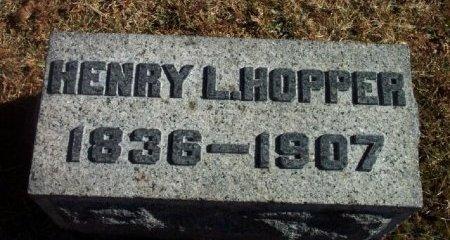 HOPPER, HENRY L. (LEWIS) - Bergen County, New Jersey | HENRY L. (LEWIS) HOPPER - New Jersey Gravestone Photos