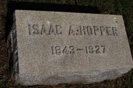 HOPPER, ISAAC A. - Bergen County, New Jersey   ISAAC A. HOPPER - New Jersey Gravestone Photos