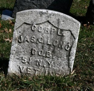 LONG, JAMES G. - Bergen County, New Jersey | JAMES G. LONG - New Jersey Gravestone Photos
