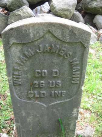 MANN, WILLIAM JAMES - Bergen County, New Jersey | WILLIAM JAMES MANN - New Jersey Gravestone Photos
