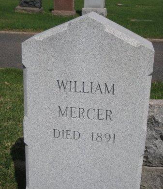 MERCER, WILLIAM - Bergen County, New Jersey | WILLIAM MERCER - New Jersey Gravestone Photos