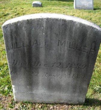 MILLER, WILLIAM - Bergen County, New Jersey | WILLIAM MILLER - New Jersey Gravestone Photos