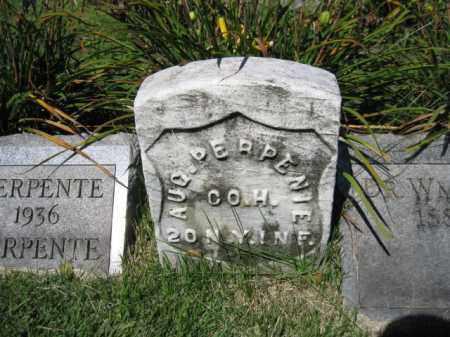 PERPENTE, AUGUST - Bergen County, New Jersey | AUGUST PERPENTE - New Jersey Gravestone Photos
