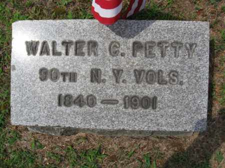 PETTY, WALTER C. - Bergen County, New Jersey | WALTER C. PETTY - New Jersey Gravestone Photos