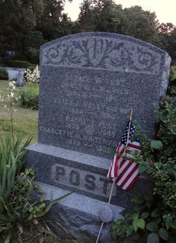 POST, HORACE WARREN - Bergen County, New Jersey | HORACE WARREN POST - New Jersey Gravestone Photos