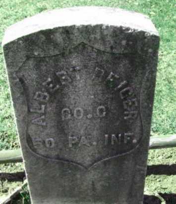 REIGER, ALBERT - Bergen County, New Jersey   ALBERT REIGER - New Jersey Gravestone Photos