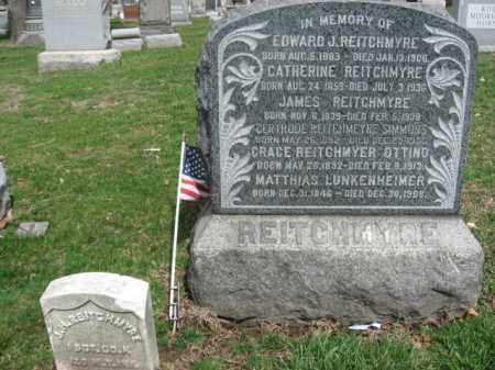 REITCHMYRE, JAMES H. - Bergen County, New Jersey | JAMES H. REITCHMYRE - New Jersey Gravestone Photos
