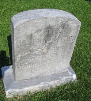 SNYDER, MARINUS HENRY - Bergen County, New Jersey | MARINUS HENRY SNYDER - New Jersey Gravestone Photos
