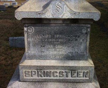 SPRINGSTEEN, LEONARD - Bergen County, New Jersey | LEONARD SPRINGSTEEN - New Jersey Gravestone Photos