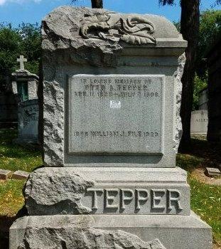 TEPPER, OTTO A. - Bergen County, New Jersey | OTTO A. TEPPER - New Jersey Gravestone Photos