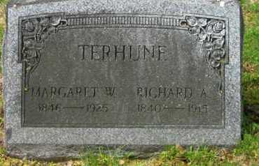 TERHUNE, RICHARD A. - Bergen County, New Jersey | RICHARD A. TERHUNE - New Jersey Gravestone Photos