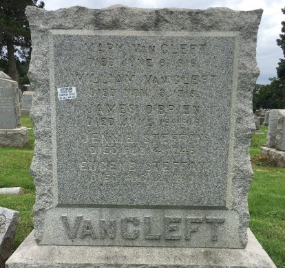 VAN CLEFT, WILLIAM - Bergen County, New Jersey | WILLIAM VAN CLEFT - New Jersey Gravestone Photos