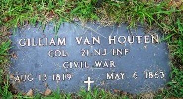 VAN HOUTEN, GILLIAM - Bergen County, New Jersey | GILLIAM VAN HOUTEN - New Jersey Gravestone Photos