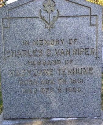 VAN RIPER, CHARLES C. - Bergen County, New Jersey | CHARLES C. VAN RIPER - New Jersey Gravestone Photos