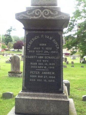 VAN RIPER, FREDERICK P. - Bergen County, New Jersey | FREDERICK P. VAN RIPER - New Jersey Gravestone Photos