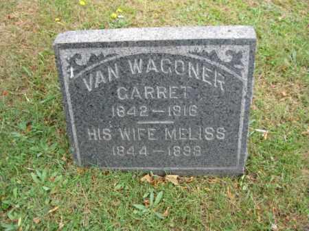 VAN WAGONER, GARRET - Bergen County, New Jersey   GARRET VAN WAGONER - New Jersey Gravestone Photos