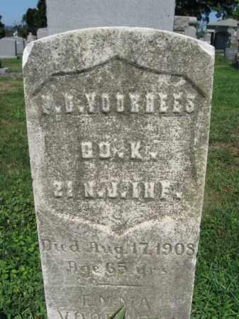 VOORHEES, PETER D. - Bergen County, New Jersey   PETER D. VOORHEES - New Jersey Gravestone Photos