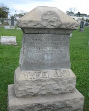 VREELAND, RICHARD - Bergen County, New Jersey | RICHARD VREELAND - New Jersey Gravestone Photos