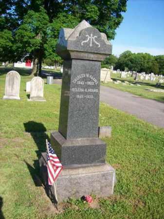 ADAMS, CHARLES W. - Burlington County, New Jersey   CHARLES W. ADAMS - New Jersey Gravestone Photos