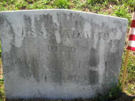 ADAMS, JESSE - Burlington County, New Jersey | JESSE ADAMS - New Jersey Gravestone Photos