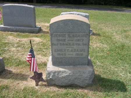ADAMS, JESSE S. - Burlington County, New Jersey   JESSE S. ADAMS - New Jersey Gravestone Photos