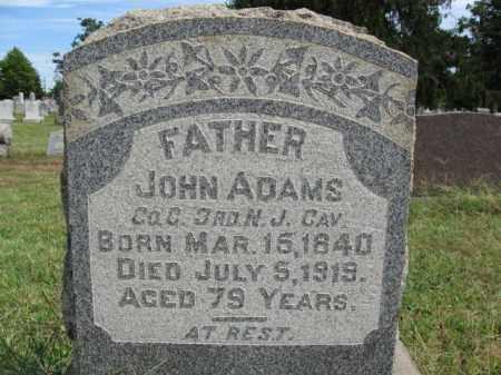 ADAMS, JOHN - Burlington County, New Jersey   JOHN ADAMS - New Jersey Gravestone Photos