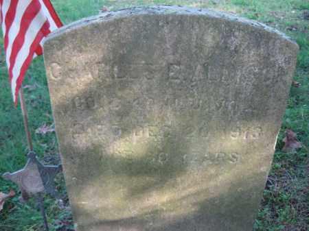 ALLISON, CHARLES E. - Burlington County, New Jersey | CHARLES E. ALLISON - New Jersey Gravestone Photos