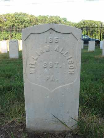 ALLISON, SGT.WILLIAM - Burlington County, New Jersey | SGT.WILLIAM ALLISON - New Jersey Gravestone Photos