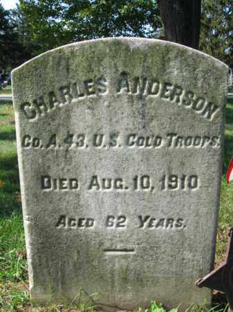 ANDERSON, CHARLES - Burlington County, New Jersey | CHARLES ANDERSON - New Jersey Gravestone Photos