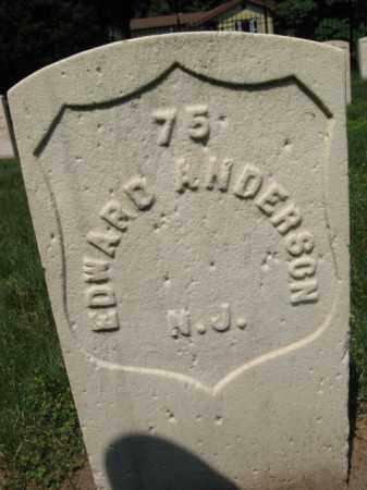 ANDERSON, EDWARD - Burlington County, New Jersey   EDWARD ANDERSON - New Jersey Gravestone Photos