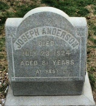 ANDERSON, JOSEPH - Burlington County, New Jersey   JOSEPH ANDERSON - New Jersey Gravestone Photos