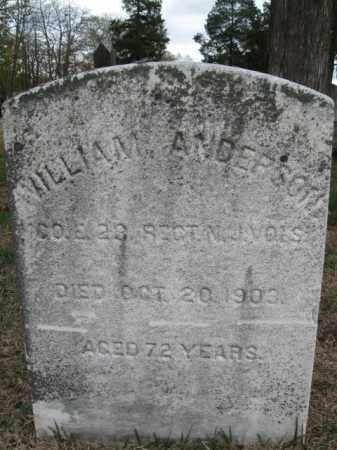 ANDERSON, WILLIAM - Burlington County, New Jersey   WILLIAM ANDERSON - New Jersey Gravestone Photos