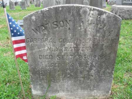 ANTRIM, WATSON - Burlington County, New Jersey | WATSON ANTRIM - New Jersey Gravestone Photos