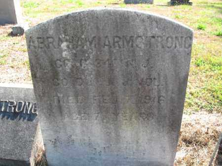 ARMSTRONG, ABRAHAM - Burlington County, New Jersey   ABRAHAM ARMSTRONG - New Jersey Gravestone Photos