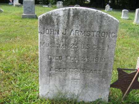 ARMSTRONG, JOHN J. - Burlington County, New Jersey | JOHN J. ARMSTRONG - New Jersey Gravestone Photos