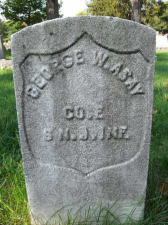 ASAY, GEORGE W. - Burlington County, New Jersey   GEORGE W. ASAY - New Jersey Gravestone Photos