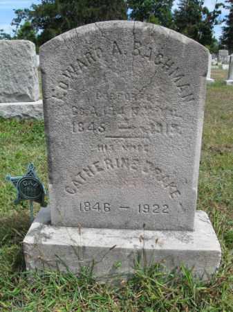 BACHMAN, CORP.EDWARD A. - Burlington County, New Jersey   CORP.EDWARD A. BACHMAN - New Jersey Gravestone Photos