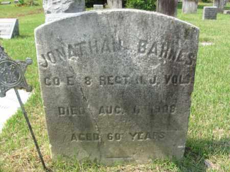 BARNES, JONATHAN - Burlington County, New Jersey   JONATHAN BARNES - New Jersey Gravestone Photos