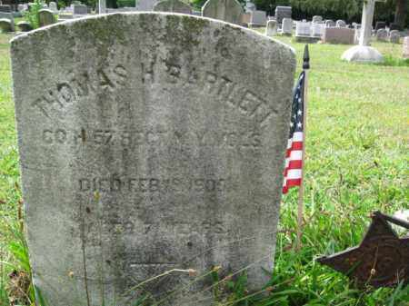 BARTLETT, THOMAS H. - Burlington County, New Jersey | THOMAS H. BARTLETT - New Jersey Gravestone Photos