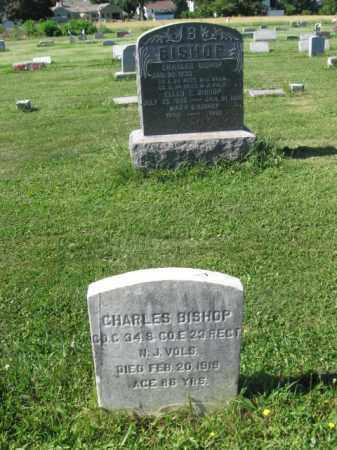BISHOP, CHARLES - Burlington County, New Jersey   CHARLES BISHOP - New Jersey Gravestone Photos