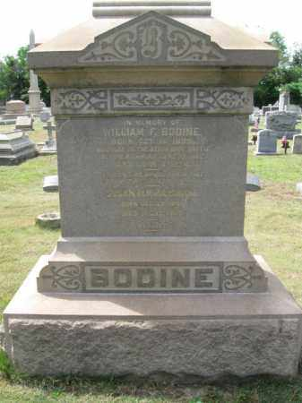 BODINE, WILLIAM F. - Burlington County, New Jersey | WILLIAM F. BODINE - New Jersey Gravestone Photos