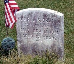 BRANIN (BRANNIN), GEORGE S. - Burlington County, New Jersey | GEORGE S. BRANIN (BRANNIN) - New Jersey Gravestone Photos