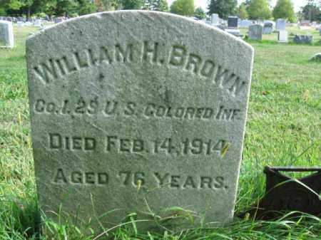 BROWN, WILLIAM H. - Burlington County, New Jersey | WILLIAM H. BROWN - New Jersey Gravestone Photos