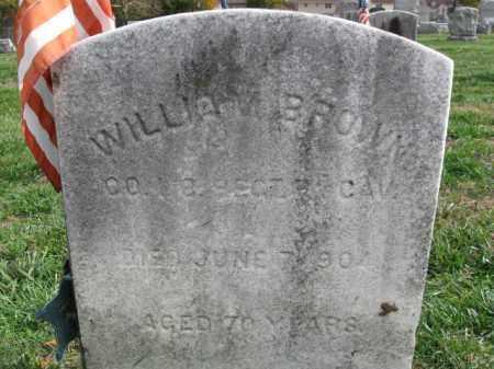 BROWN, WILLIAM - Burlington County, New Jersey   WILLIAM BROWN - New Jersey Gravestone Photos