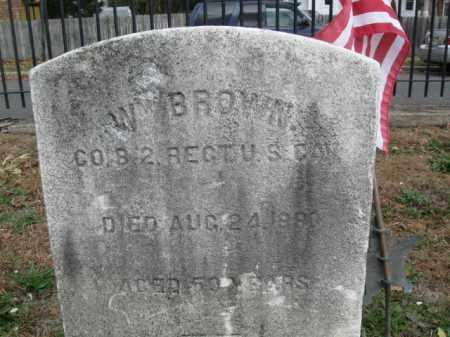 BROWN, WILLIAM - Burlington County, New Jersey | WILLIAM BROWN - New Jersey Gravestone Photos