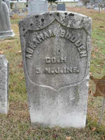 BUDDEN, ABRAHAM - Burlington County, New Jersey | ABRAHAM BUDDEN - New Jersey Gravestone Photos