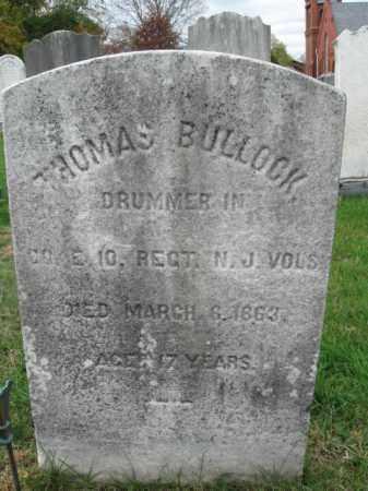 BULLOCK, THOMAS L. - Burlington County, New Jersey | THOMAS L. BULLOCK - New Jersey Gravestone Photos