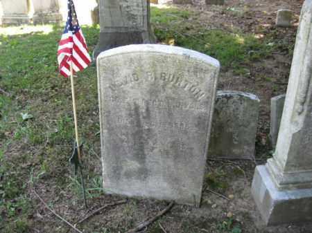 BURTON, DAVID R. - Burlington County, New Jersey | DAVID R. BURTON - New Jersey Gravestone Photos